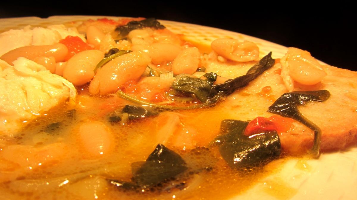Sopas de Feijão Branco c/ Pescada