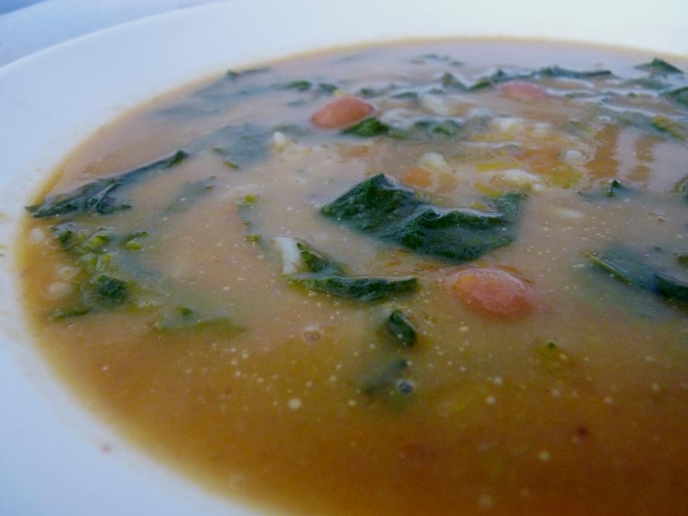 Sopa de Grelos de Nabo e Feijão…uma Refeição!